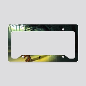 Cleansed License Plate Holder
