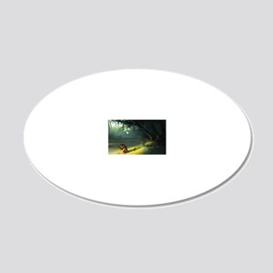 Cleansed 20x12 Oval Wall Decal