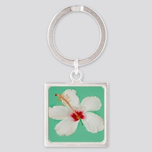 Dainty Floater Square Keychain