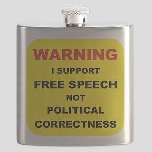 WARNING I SUPPORT FREE SPEECH... Flask