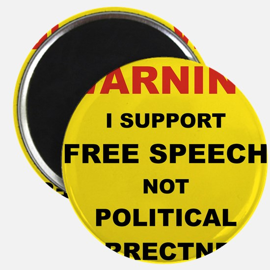 WARNING I SUPPORT FREE SPEECH... Magnet
