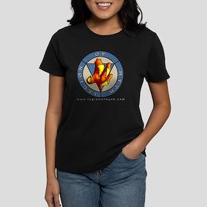 LoM_transparentBG_web Women's Dark T-Shirt