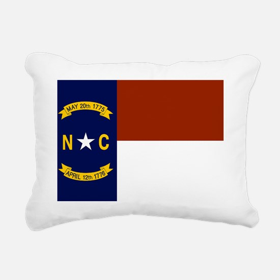 North Carolina United St Rectangular Canvas Pillow