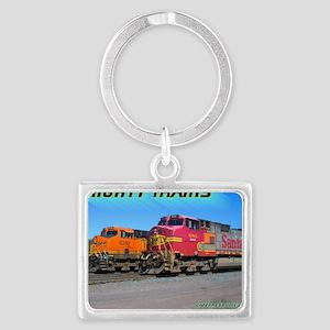 Mighty Trains Calendar Landscape Keychain