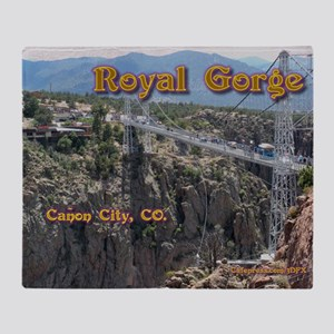 Royal Gorge Calendar Throw Blanket