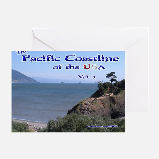 Beautiful Pacific Coast Calendar Greeting Card