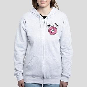 Zeta Tau Alpha Big Sister Donut Women's Zip Hoodie