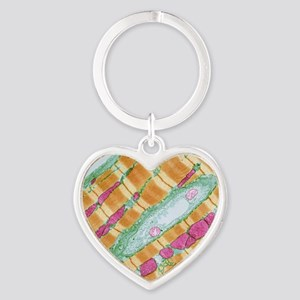 Cardiac muscle, TEM Heart Keychain