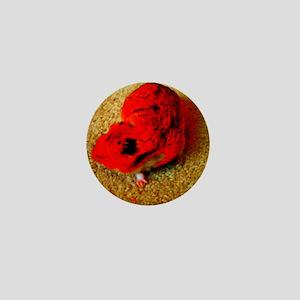 Cabbage the Hamster Mini Button