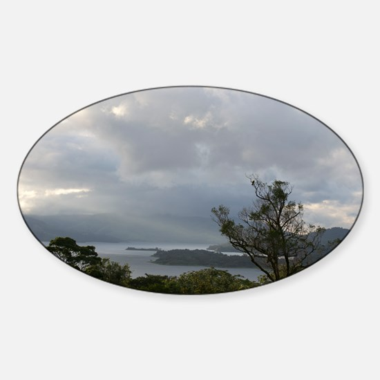 Lake Arenal Sticker (Oval)