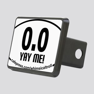 Running 13.1 Spoof 0.0 Yay Rectangular Hitch Cover