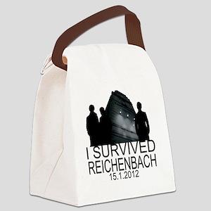Reichenbach survivor Canvas Lunch Bag
