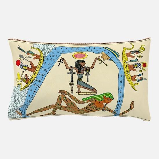 Egyptian creation myth Pillow Case