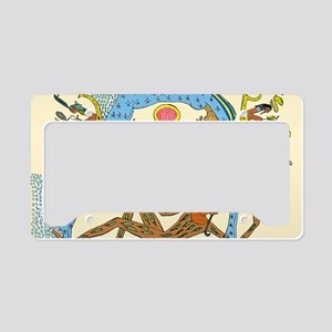 Egyptian creation myth License Plate Holder