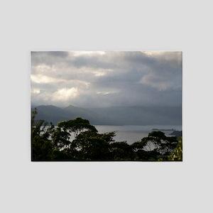 Lake Arenal 5'x7'Area Rug