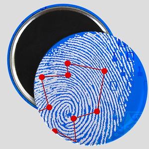 Fingerprint scanning Magnet