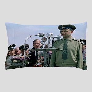 Komarov before Soyuz 1 launch, 1967 Pillow Case