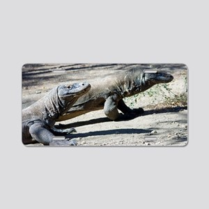 Komodo dragons Aluminum License Plate