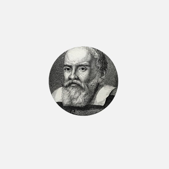 Galileo Galilei, Italian astronomer Mini Button