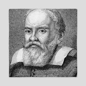 Galileo Galilei, Italian astronomer Queen Duvet
