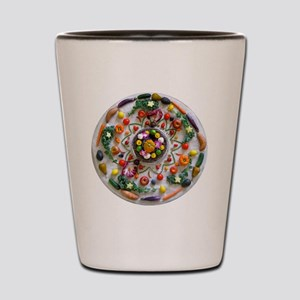 Veg and Fruit Mandala Shot Glass