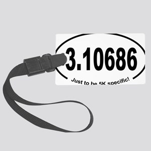 Running 5K Spoof 3.1 Large Luggage Tag