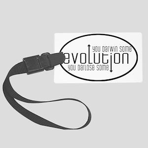 evolution Large Luggage Tag