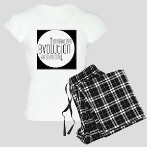 darwinbutton Women's Light Pajamas