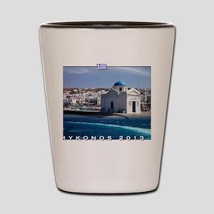 Mykonos Calendar 2013 Shot Glass