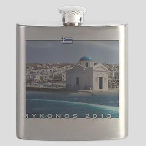 Mykonos Calendar 2013 Flask
