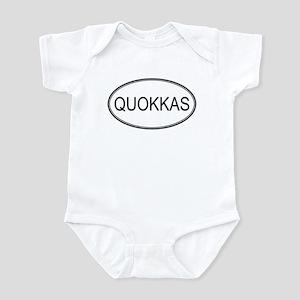 Oval Design: QUOKKAS Infant Bodysuit