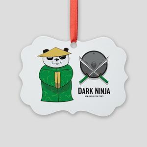 Panda Shopkeeper Picture Ornament