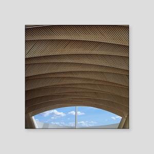 """Kuwait Pavilion Square Sticker 3"""" x 3"""""""