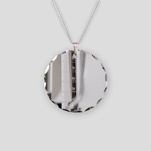 Laboratory glassware Necklace Circle Charm