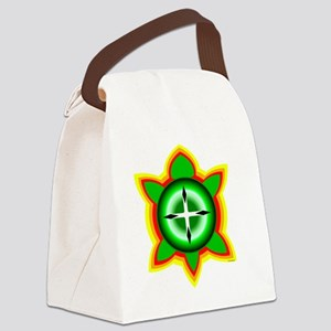 SOUTHEASTERN TRIBAL TURTLE Canvas Lunch Bag