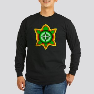 SOUTHEASTERN TRIBAL TURTL Long Sleeve Dark T-Shirt