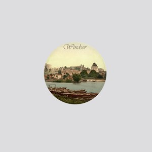 Vintage Windsor Castle Mini Button