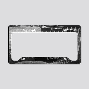 Back in the Day -the East Vil License Plate Holder