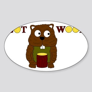 Got Wood Sticker (Oval)