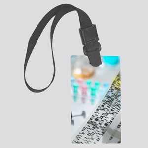Genetic research Large Luggage Tag