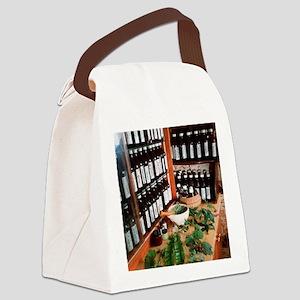 Herbal pharmacy Canvas Lunch Bag