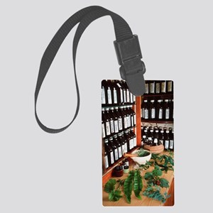 Herbal pharmacy Large Luggage Tag