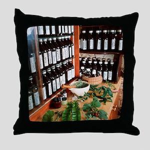 Herbal pharmacy Throw Pillow