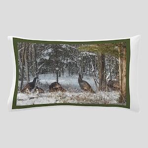 Wild Turkeys Pillow Case
