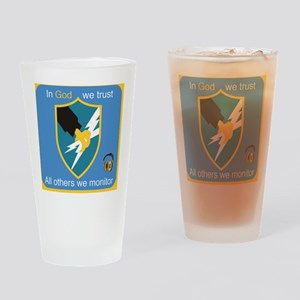 Army Security Agency USASA Coaster Drinking Glass
