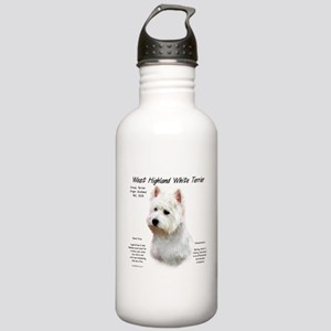 West Highland White Te Stainless Water Bottle 1.0L