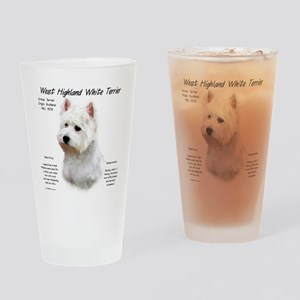 West Highland White Terrier Drinking Glass