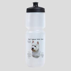 West Highland White Terrier Sports Bottle