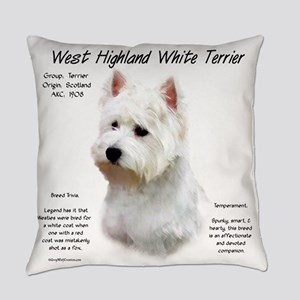 West Highland White Terrier Everyday Pillow