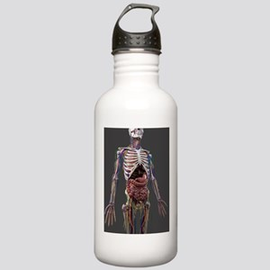 Human anatomy, artwork Stainless Water Bottle 1.0L